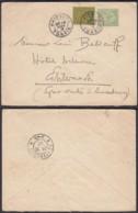 INDOCHINE Yv 9+17 SUR LETTRE DE HAIPON TONKIN 28/11/1902 VERS LUXEMBOURG (6G18538) DC-MV516 - Indochina (1889-1945)