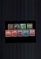 Luxembourg Série De Timbres De 1941 Occupation Neuve Sans Charniere Prifix 20.- EUR - 1940-1944 Ocupación Alemana