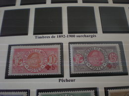 TIMBRE COLONIE FRANCAISE ST PIERRE ET MIQUELON  N°105/106 NEUF Sans  CHARNIERE - Neufs