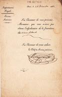 Adjudication De 1841 - Imprimerie Royale - Laveissière - Paris. - Imprimerie & Papeterie