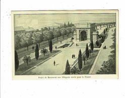 Cpa ALBI Projet Du Monument Aux Albigeois Morts Pour La France - Monuments Aux Morts