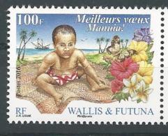 Wallis Et Futuna 2016 - Meilleurs Voeux - Wallis-Et-Futuna