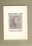 CATALOGUE EXPOSITION NATIONALE BRUPHILA 99   Avec Le Feuillet 223 Pages - Briefmarkenaustellung