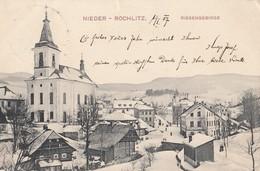 Nieder Rochlitz Riesengebirge , Rokytnice 1905 - Tsjechië