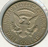 Etats-Unis USA Half Dollar 1/2 Dollar 1967 Argent KM 202a - Federal Issues