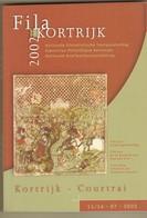CATALOGUE EXPOSITION NATIONALE PHILA KORTRIJK 2002  335 Pages - Expositions Philatéliques