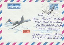 GOOD LITHUANIA Postal Cover To GERMANY 1976 - Airplane - Lithuania