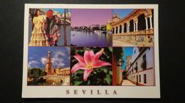 Spain - Sevilla - Mehrbildkarte - Um 1990 - Look Scans - Sevilla