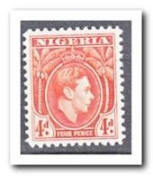 Nigeria 1938, Plakker MH, King Georg VI - Nigeria (1961-...)
