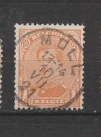 COB 135 Oblitération Centrale MOLL - 1915-1920 Albert I