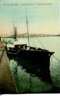 N°69073 -cpa Le Havre -le François 1er -bateau D'Honfleur- - Bateaux