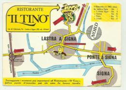 LASTRA A SIGNA - RISTORANTE DA TINO ORA EDY PIU' - NV FG - Firenze (Florence)