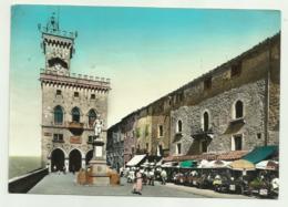 REP DI SAN MARINO - PIAZZA DELLA LIBERTA' E PALAZZO DEL GOVERNO VIAGGIATA FG - San Marino