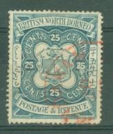 North Borneo: 1888/92   Arms    SG45   25c   Used - North Borneo (...-1963)