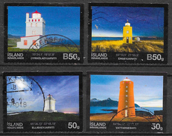 Islande - Phares - Oblitérés - Lot 162 - 1944-... Republique