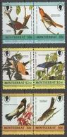 Montserrat - Cinderella James Audubon Uccelli Birds MNH ** - Etichette Di Fantasia