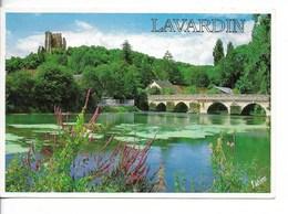 41  LAVARDIN : Pont Gothique Sur Le Loir - Oblitération SOUGE -41-  / CPM Valloire Voyagée 1993 / TBE - Other Municipalities