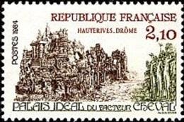France N° 2324 ** Palais Du Facteur Cheval à Hauterive (Drôme) - Nuovi