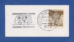 MWSt - Neustadt An Der Weinstrasse, Lerne Deine Post Kennen - Fahrende Postschule 1968 - Poststempel - Freistempel