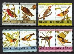 Nevis - Cinderella Bicentenario Della Nascita Di John James Audubon Bicentennial Of The Birth Uccelli Birds MNH ** - Etichette Di Fantasia