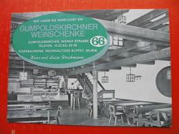 Gumpoldskirchen.Weinschenke - Mödling