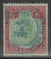 Bermudes - Bermuda - YT 86 Oblitéré - 1924 - SG 92 Wmk Mult Script CA - Bermudes
