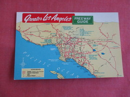 Map   Greater  Los Angeles  Freeway Guide   Los Angeles  California >  Ref 3143 - Los Angeles