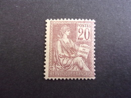 FRANCE YVERT 113 NEUF* MOUCHON, 60 EURO - 1900-02 Mouchon