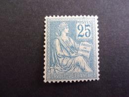 FRANCE YVERT 114 NEUF* MOUCHON, 135 EURO - 1900-02 Mouchon