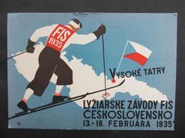 AK FIS Ski Lyziarske Zavody 1935 //  D*36315 - Tchéquie