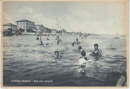 Cartolina Rimini 1946 Viserba - Rimini