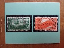 REGNO - Espressi Nn. 17/18 Timbrati + Spese Postali - 1900-44 Vittorio Emanuele III