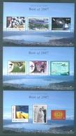 NEW ZEALAND - 2008 - MNH/** - BEST OF 2007 - Mi  3 MINISHEET BLOC Mi 223-225 -  Lot 18934 - PLEASE SEE DESCRIPTION - Blocs-feuillets