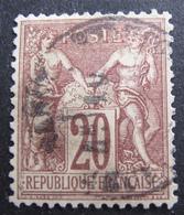 R1680/397 -SAGE TYPE I N°67 - CàD - TRES BON CENTRAGE - Cote : 20,00 € - 1876-1878 Sage (Type I)
