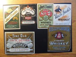 Vecchie Etichette WhiskyJack Daniels - Affiches
