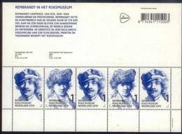 Nederland  2019  Rembrandt   Rembrandtjaar 350jr Sinds Overlijden Rembrandt Paintings Sheetlet    Postsfris/neuf/mnh - Period 2013-... (Willem-Alexander)