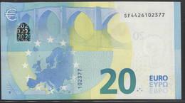 "EURO 20  ITALIA SF S021  ""42""  DRAGHI  UNC - EURO"