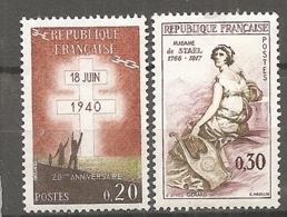 Yv. N° 1264,1269  **  MNH  Divers Cote1,3 Euro  TBE - Frankreich