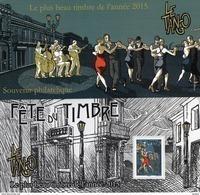 France - Feuillet Bloc Souvenir N° 129 **  Plus Beau Timbre De L'année 2015 - Danse Le Tango - Blocs Souvenir