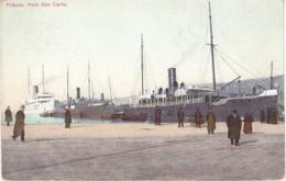 Cartolina Trieste 1910 Molo San Carlo - Trieste