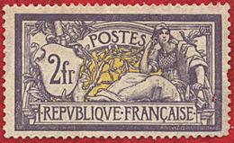 France N° 122 * Défectueux - 1900-27 Merson