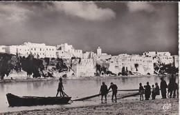 MAROC---AZEMMOUR--les Remparts Et Les Pêcheurs---voir 2 Scans - Maroc