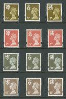 GRANDE-BRETAGNE - 1993 - REGIONAUX - NEUFS ** LUXE/MNH - Yvert # 1718/1729 - Série Complète 12 Valeurs - Unclassified