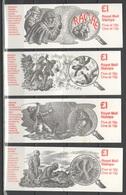GB 1987-88 Booklets - Sherlock Holmes - Booklets