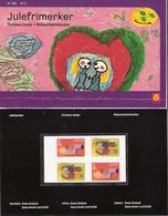 Norway 2004 Christmas Staps, Children Paintings  Mi  1516-1517 X2  MNH(**) In Folder - Norvège