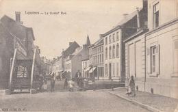 Lessines - La Grand'Rue - Passerelle + Verso: Publicité Cinéma Théatre Pathé - De Graeve Gand 1712 - Lessines