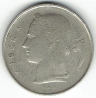 Belgium, 1 Franc 1952 (NL) - 1951-1993: Baudouin I