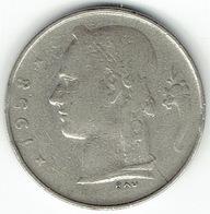 Belgium, 1 Franc 1958 (FR) - 1951-1993: Baudouin I