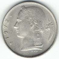 Belgium, 1 Franc 1972 (NL) - 1951-1993: Baudouin I