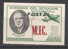 Ecuador 1949. #A (M) Roosevelt M.EC. * - Equateur